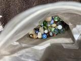 Bag lot of vintage marbles