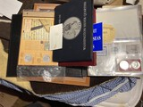 Group lot of assorted coins including silver