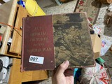 Antique Military Book US Official Pictures of the World War