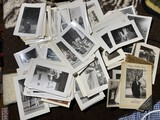 Large lot of old snapshot photos