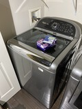 NIcer Whirlpool Cabrio Platinum Washing Machine Top Load