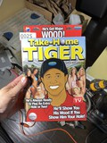 Take Home Tiger Woods Blow Up Doll in Box
