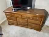 Wooden Dresser Cabinet By Bassett