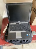 Dell Latitude D520 Laptop Computer in Case