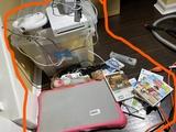 Nintendo Wii, controllers, games, balance board
