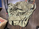 Vintage Military Backpack or Rucksack