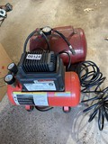 Small air compressor and tank