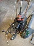 Weed whacker, edger, gas blower