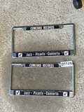 Pair of License Plate Frames - Concord Records Jazz