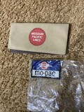 2 Missouri Pacific Lines railroad items
