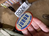 Old Franklin County Juror Badge