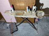 Ironing board, jewelry trays, iron and more