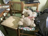 2 Chairs Plus teddy bear