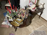 Coffee Table and Lamp Table Lot