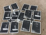 Large lot 1973 photos of Blues legend BB King