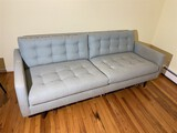 Crate & Barrel Mid Century style couch
