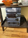 JVC Stereo with Pyle Home speakers