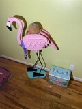 Wooden flamingo PLUS Flamingo Jewelry Box