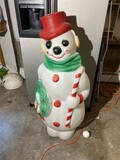 Blow Mold Light Up Frosty the Snowman