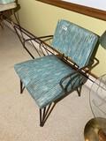 Vintage 1950s Mid Century Modern Armchair