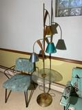 Vintage Mid Century Modern Tulip Lamp table