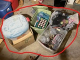 Large lot older Christmas Ornaments and more