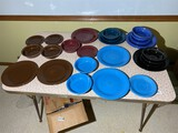 Large lot of assorted Fiestaware