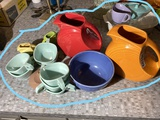 Large lot of assorted Fiesta, Melmac and more