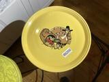 Large Fiesta Thanksgiving Turkey Platter