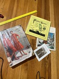 1950s Catalog, Parakeet lessons record etc
