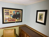 Group lot of three framed pieces