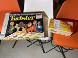 Vintage Twister game in original packaging, PLUS Pig Mania