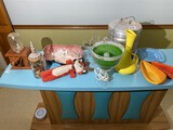 Group lot of retro and Mid Century Modern items