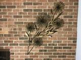 Mid Century Modern Metal Wall Art Piece