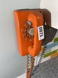 Retro Rotary Dial Wall Telephone