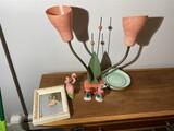 Mid Century Atomic Tulip table lamp PLUS