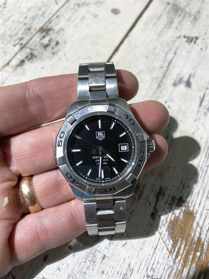 Nice Tag Heuer Aquaracer Men's Dive Watch