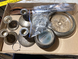Flat lot of assorted sterling silver