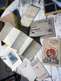 Group Lot Assorted Military Paper, Maps and more