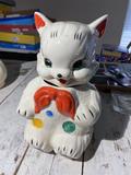 Vintage Cookie Jar - Bear or Cat