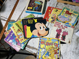 Large lot assorted children's 45 records