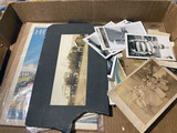 Lot of old paper and photos, snapshots and more