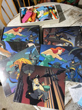 Group lot of Vintage Batman prints