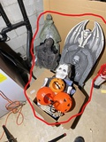 Group Lot of Vintage and Newer Halloween items