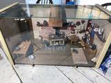 Vintage Dollhouse Decorated Diorama Scene