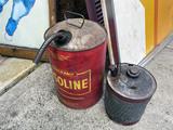 Antique Gasoline and Kerosene Cans