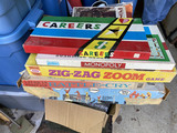 Group lot of Vintage Games in Boxes