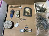 Assorted smalls including Breitling watch band parts