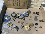 Lot assorted military items and more