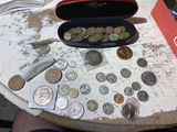 Large lot assorted old US Coins